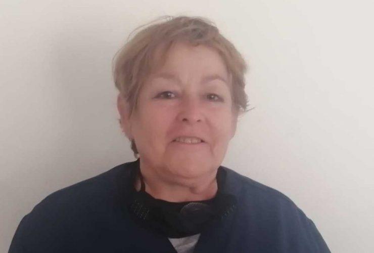 Mariana Cándida, personalde apoyo administrativo